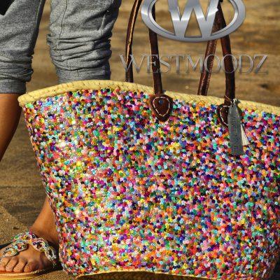 rieten strandtassen Ibiza style