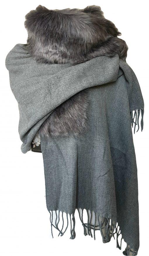 bontsjaal donkergrijs