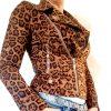 panter print jasje