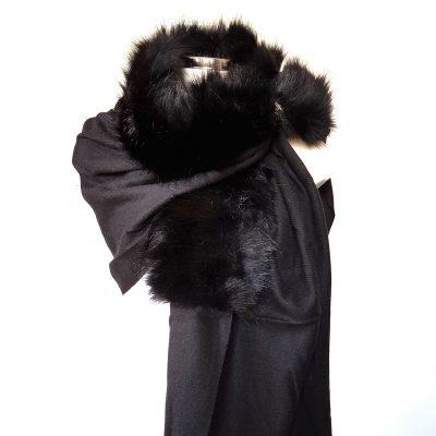 bontsjaal zwart